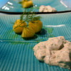 Sill i röra med smörslungad potatis