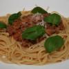 Pasta Bolognese på två sätt och en kapad blogg