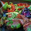 Kött, färg och smakkombinationer