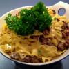 Pasta mums - med oxfile, tryffel och kantarell