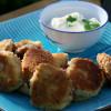 Crab cakes med smak av ingefära och koriander