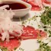 Tonfiskcarpaccio i två variationer - fredagsmat