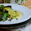 Café de Paris med grillad fläskkarré