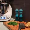 Vichyssoise - potatis och purjolökssoppa i Thermomixern