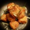 Skummig hummersoppa med pankofriterad chili cheese