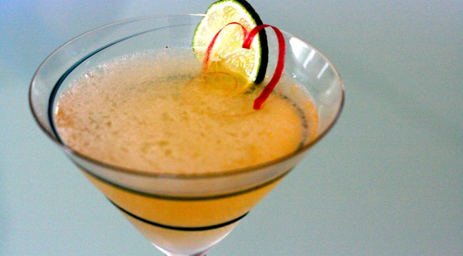 Rhubarb Cosmo – fredagsdrinken