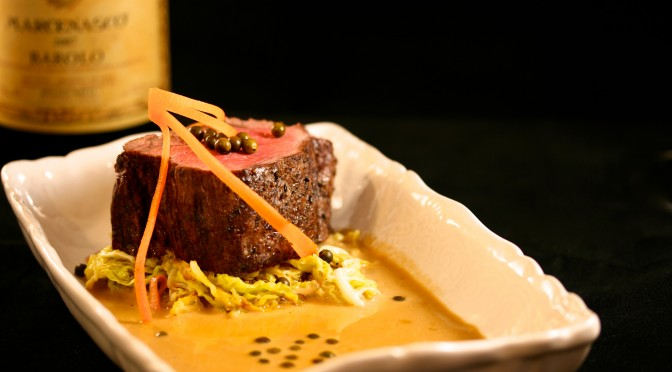 Oxfilé och grönpepparsås – obittra kockar