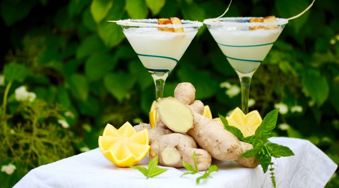 Coconut Ginger Lemon Drop – fredagsdrinken