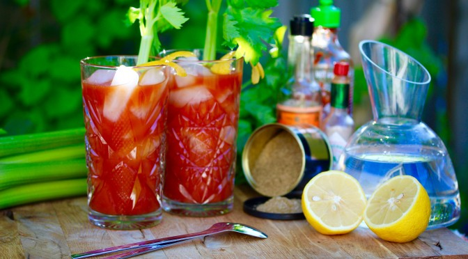 Bloody smokin´ Mary – fredagsdrinken
