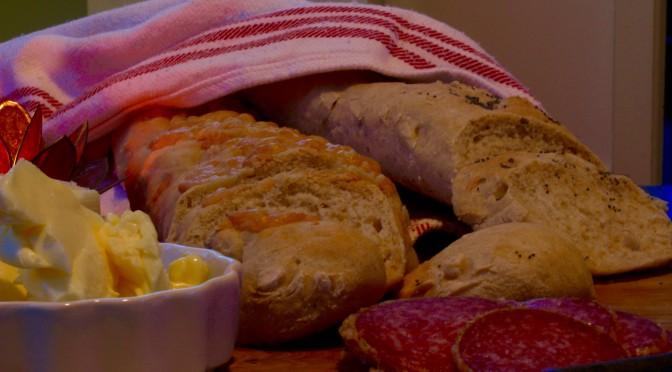 Surdegsbaguetter – om att fly en bakning
