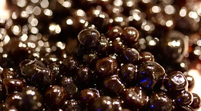 Pärlor av balsamvinäger – molekylär gastronomi
