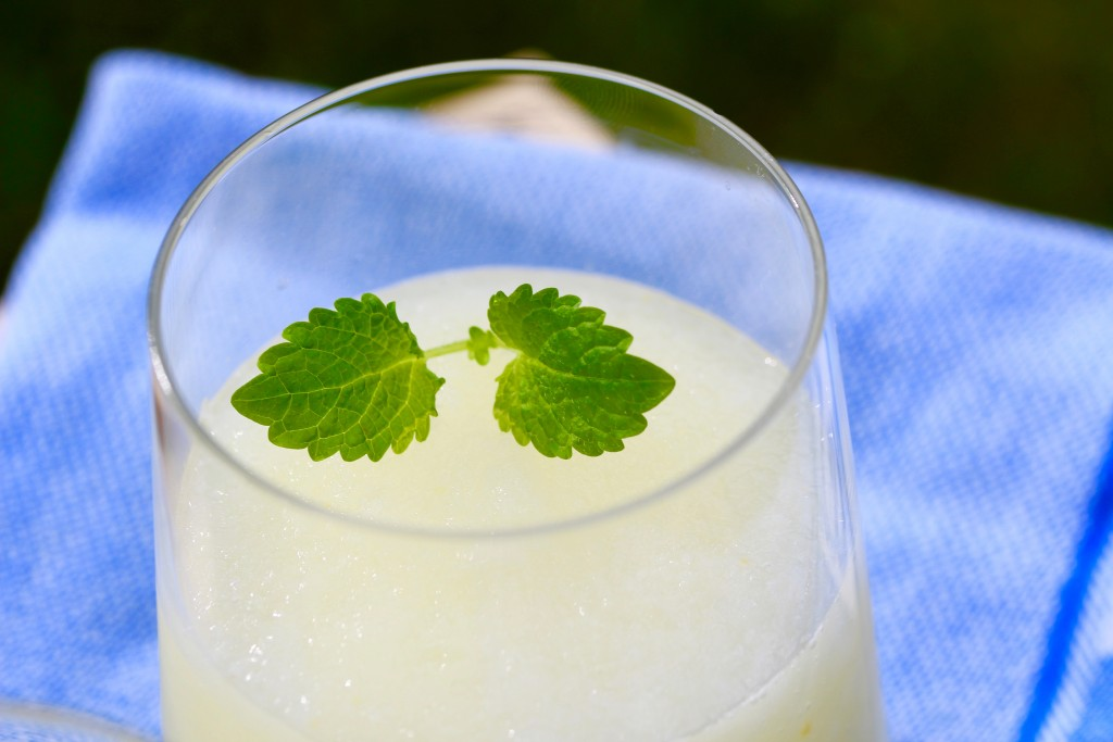 champagne lemon slush