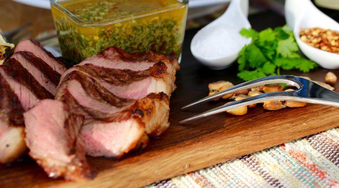 Grillad picanha med chimichurri – att laga med känsla