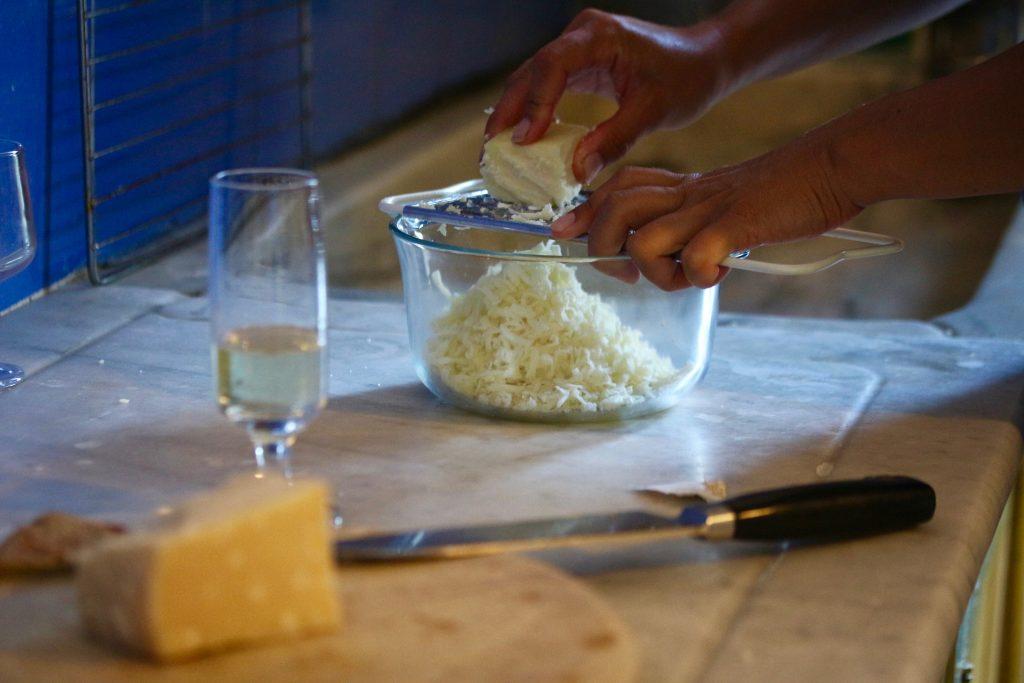 parmigiano e pecorino
